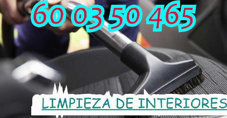 Limpieza interior coche resultados garanti