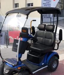 Moto scooter eléctrica biplaza nico 4046. apta