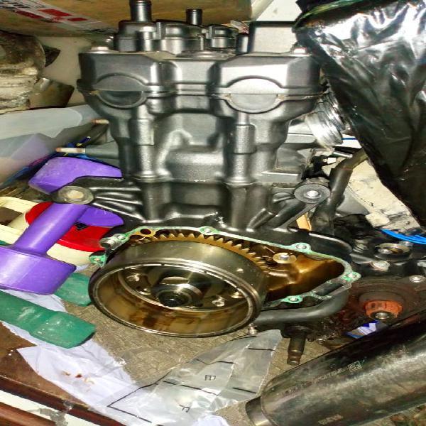 Motor honda cbf 600 carburación.