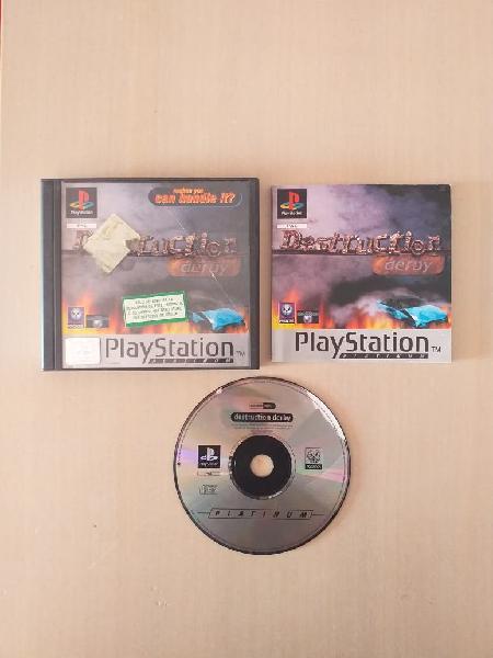 PS1 Destruction Derby PlayStation 1