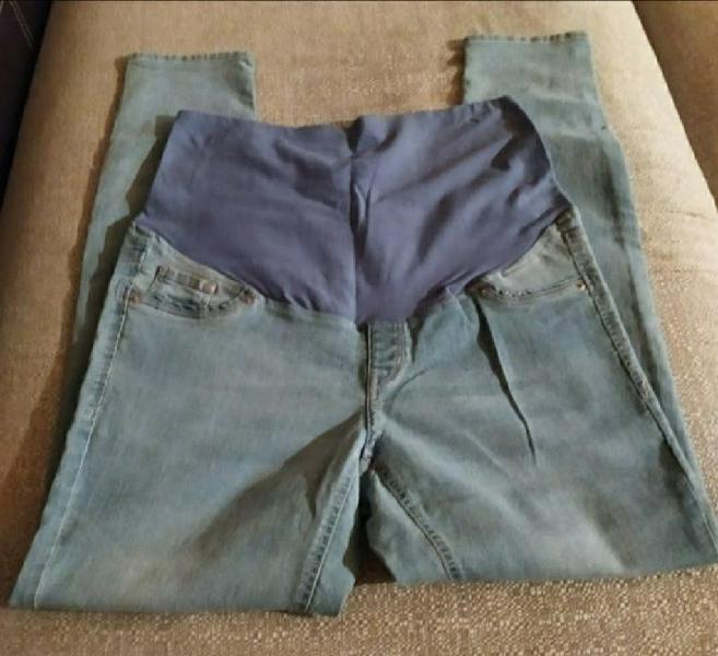 Pantalon vaquero premama h&m t. 46