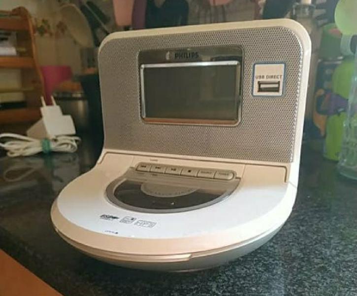 Radio cd + mp3 + despertador