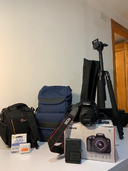 Súper pack cámara réflex