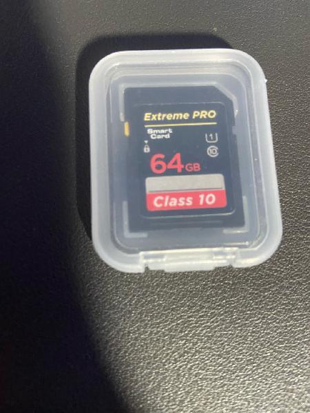 Tarjeta sd 64 gb extreme pro