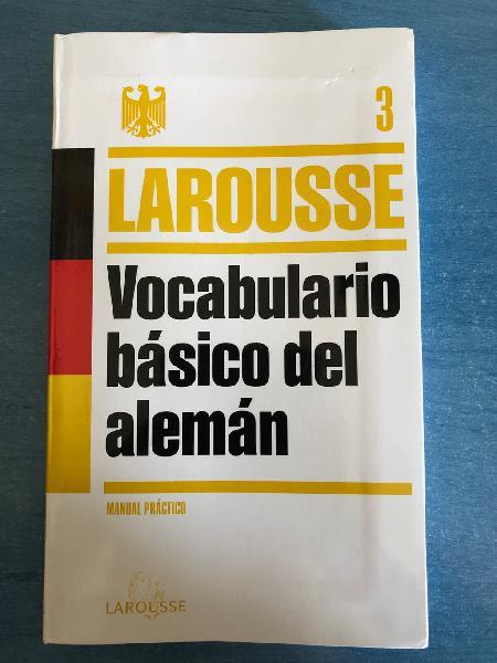 Vocabulario básico del alemán