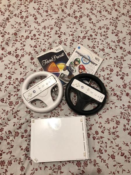 Wii con mandos y accesorios