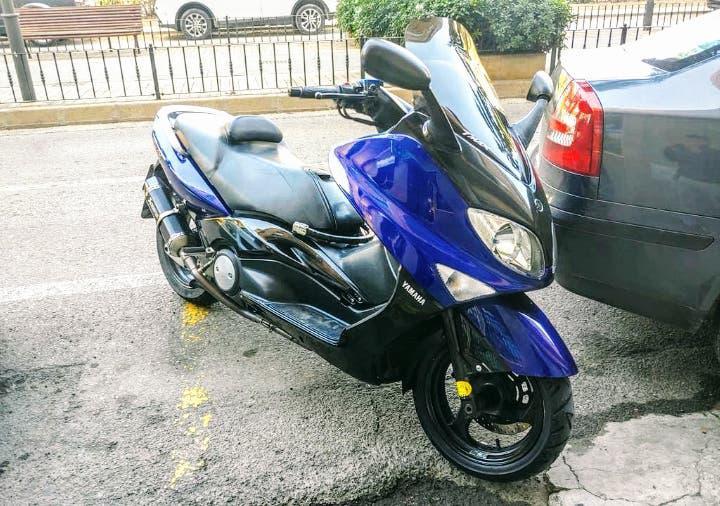 Yamaha t max 500 cambio de nombre incluido.