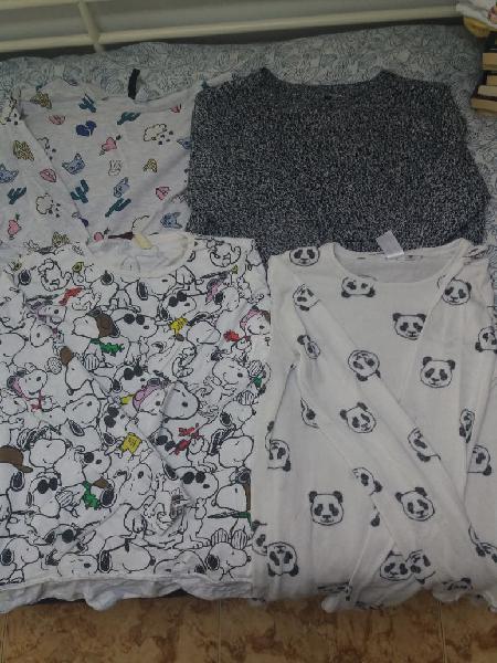 Camisetas de manga larga oferta !!
