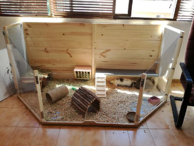 Casa para conejos o coballas