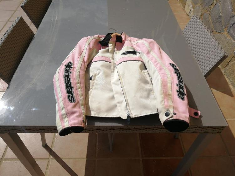 Chaqueta chica rosa alpinestar