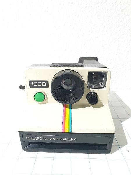 Cámara de fotos polaroid 1000