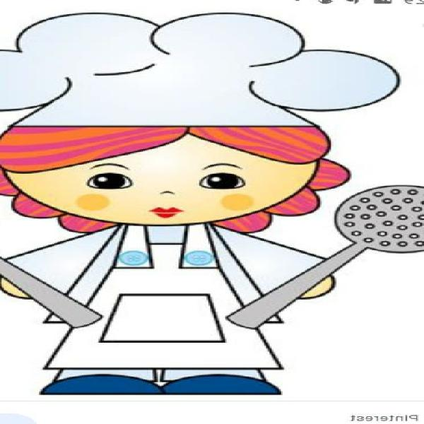 Cocinera.