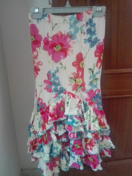 Flamenca falda y maillot