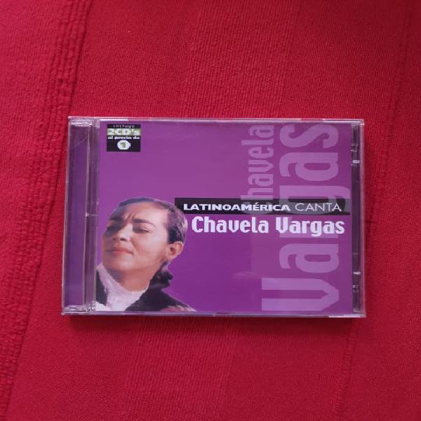 Latino américa canta chavelas vargas 2 discos nuev