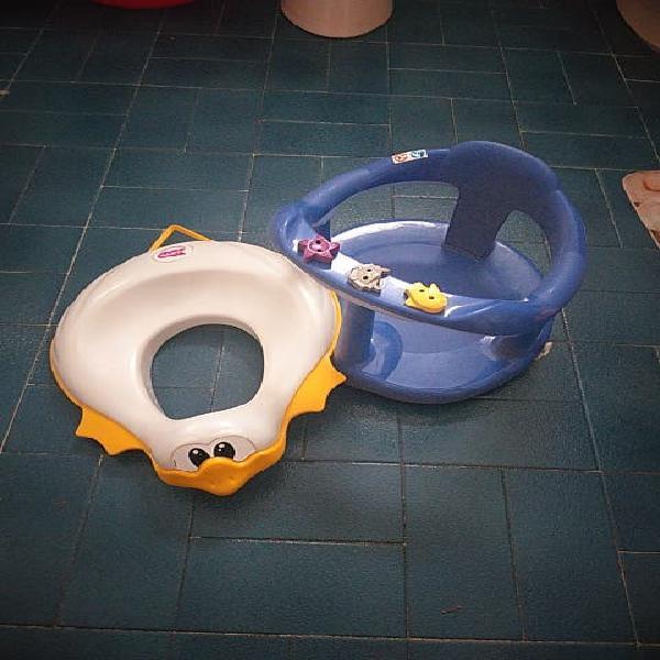 Silla de baño y adaptador wc