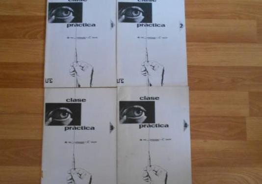 4 cuadernillos, clase practica, ver, aprender y h