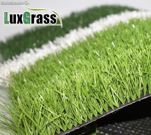60 mm césped artificial de alta calidad para el campo de