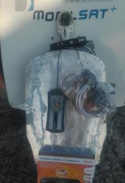 Antena parabolica satelite mobilsat