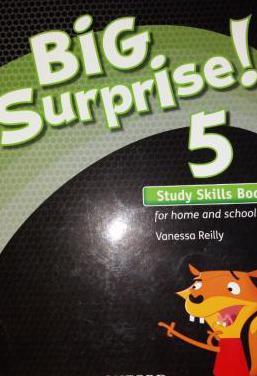 Big surprise! 5° study skills book