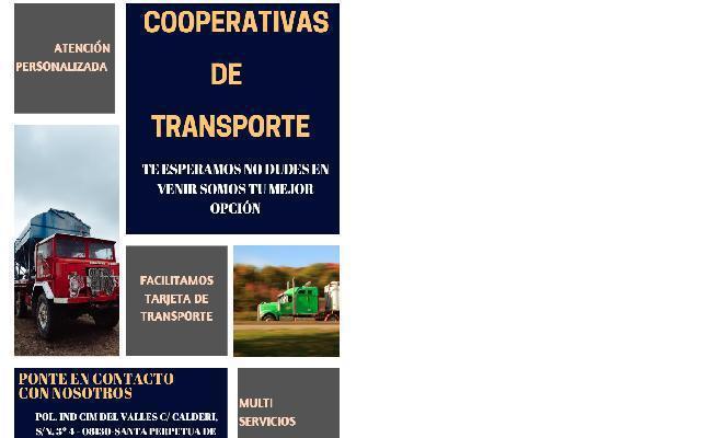 Cooperativas – alquiler tarjeta transporte – camioneros