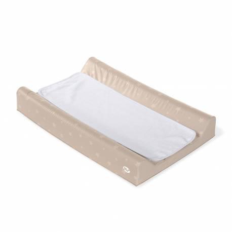 Cambiador bañera estrellas beig y toalla de innovaciones ms