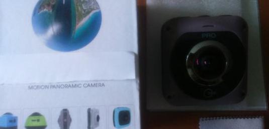 Cãmara panoramica 360 doble lente vr