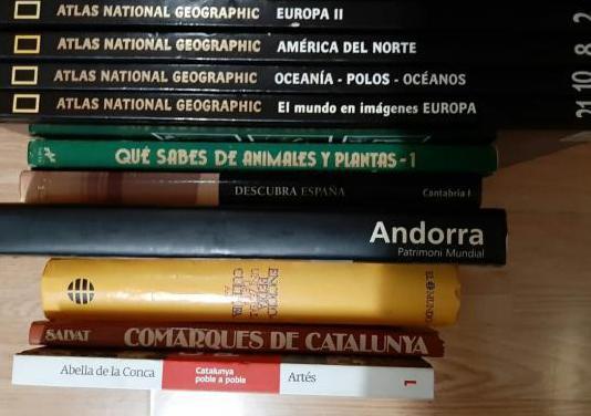 Enciclopedia y varios libros