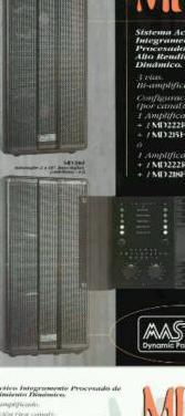 Equipo de sonido pa procesado de 7.200w rms