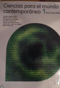Libro ciencias para el mundo contem 1ºbach