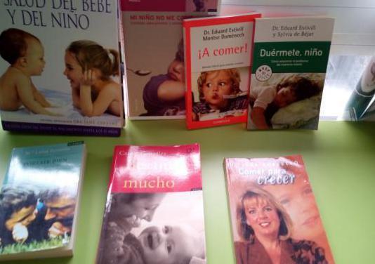 Libros crianza bebé y niño