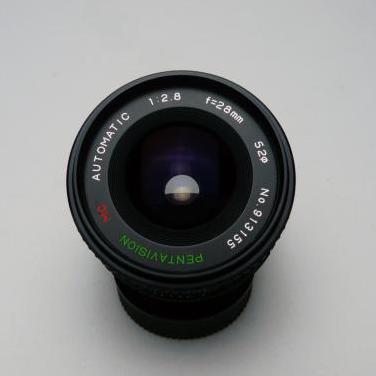 Objetivo para minolta md 28mm f2.8 macro