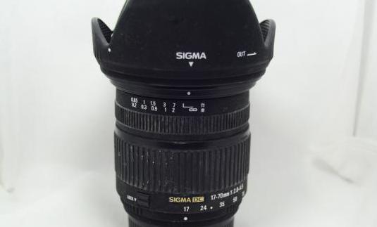 Objetivo nikon sigma 17-70mm 2.8-4.5 macro