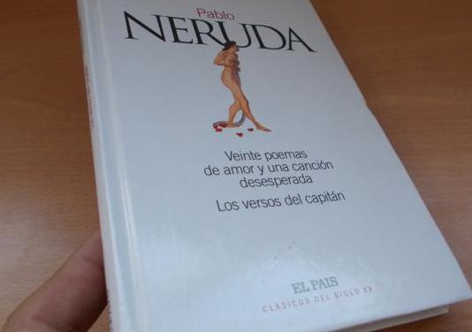 Pablo neruda:20 poemas de amor...