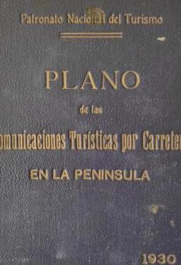 Plano turístico carreteras 1930