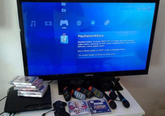 "Ps3 mas tv lg 42""ascao no negocio"
