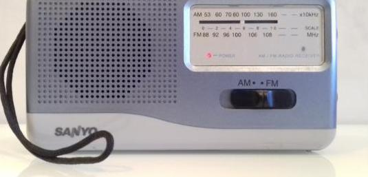 Radio transistor sanyo rp 2001