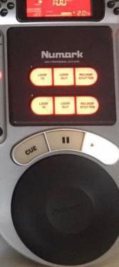Reproductor de cds numark