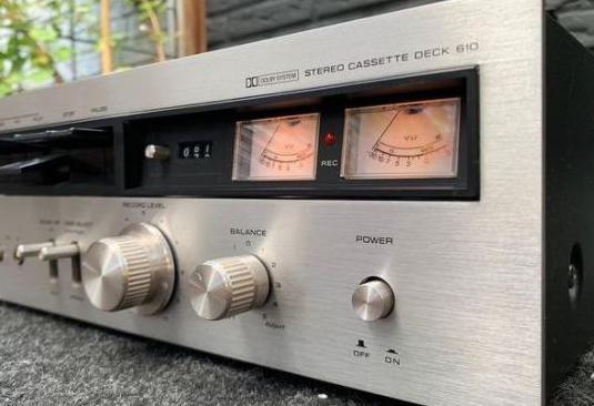 Reproductor grabador pletina cassette technics