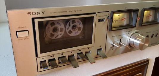 Sony tc-k2a pletina tape deck vintage
