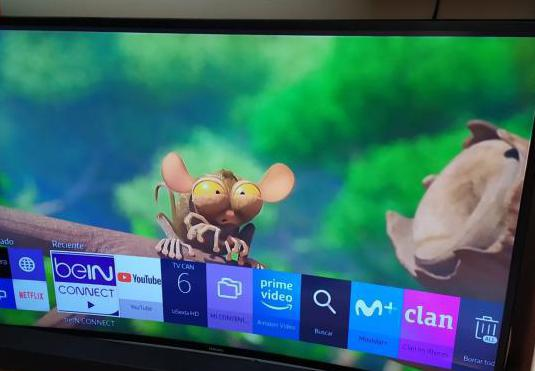 Tv samsung curved 4k uhd casi nueva