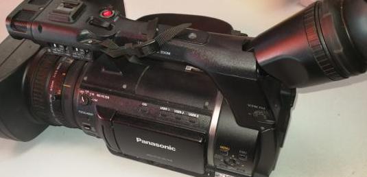 Vídeo cámara panasonic ag ac160