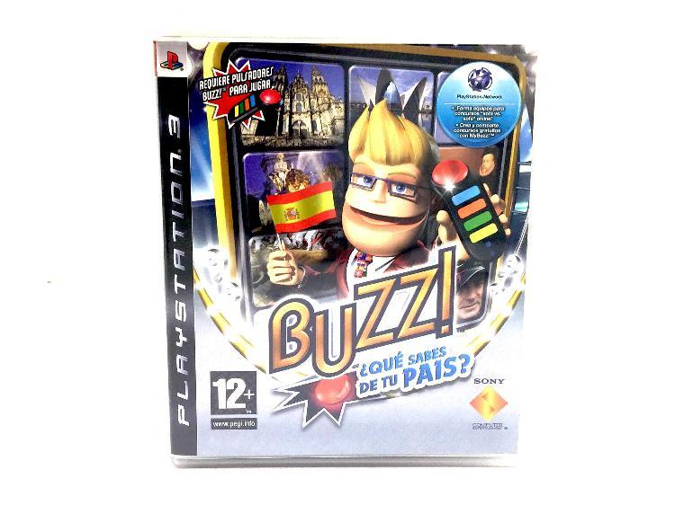 Buzz que sabes de tu pais ps3