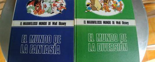 El maravilloso mundo de walt disney-libros