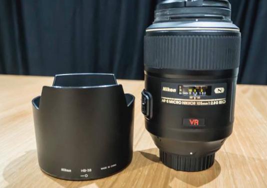 Objetivo nikon macro 105mm f/2,8