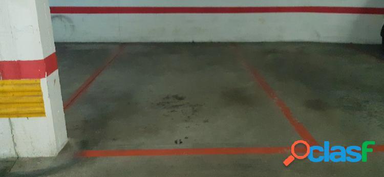 Plaza de garaje en calle manuel iradier con fueros
