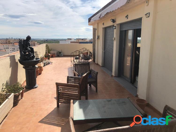 Ático dúplex venta en castellón zona av de valencia, 130 m., 4 habitaciones, 2 baños, terraza
