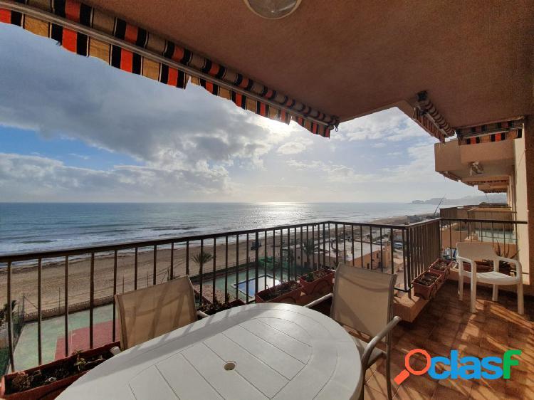 3 Dormitorios, Piscina,Tenis,Garaje Primera linea de playa La Mata.