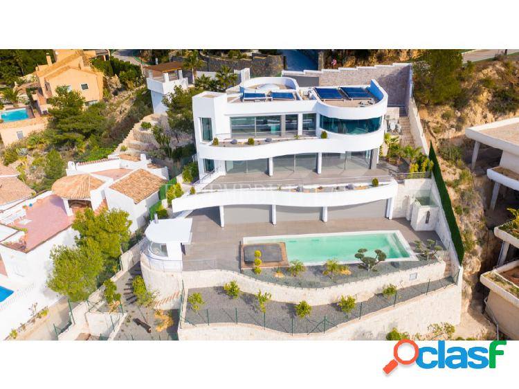 Villa de lujo con vistas al mar en venta en altea, alicante