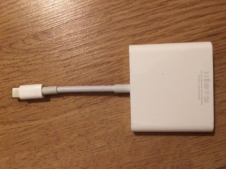 Adaptador multipuerto apple