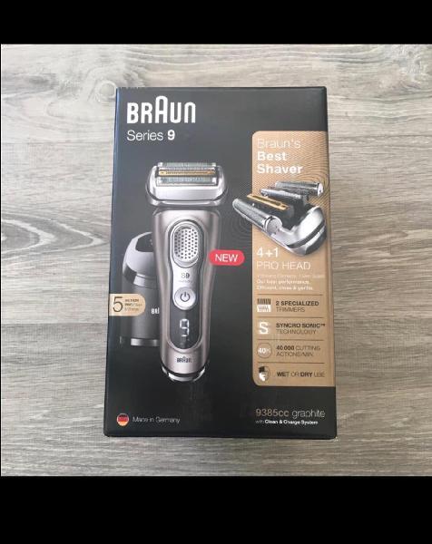Braun series 9 9385cc nueva sin uso